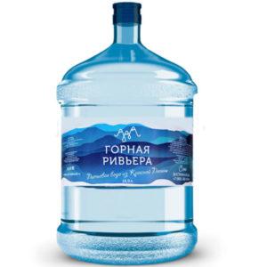 Вода «Горная Ривьера», 19 литров