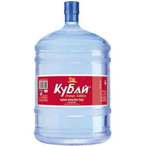 """Вода Ледниковая """"Кубай"""", 19 литров"""