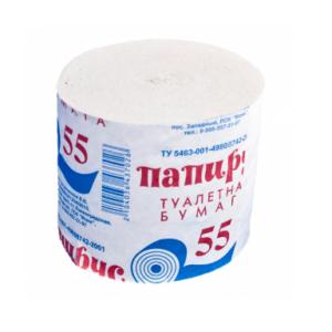 Бумага туалетная Папирус Лайт 55мм