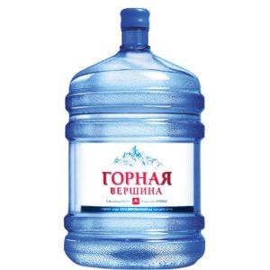 """Вода """"Горная Вершина"""", 19 литров"""