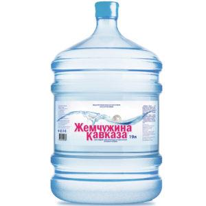 "Вода ""Жемчужина Кавказа"", 19 литров"