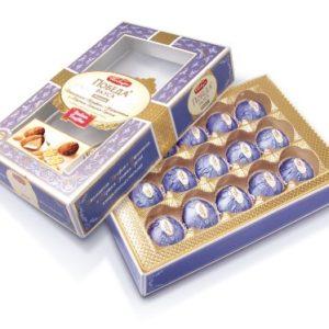 Конфеты «Шоколадные итальянские трюфели с марципаном и тертым орехом» 225гр