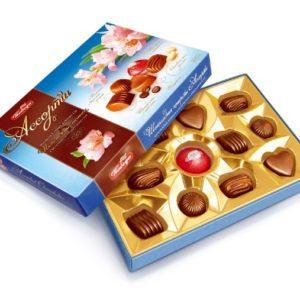 Конфеты Шоколадные Ассорти 155гр