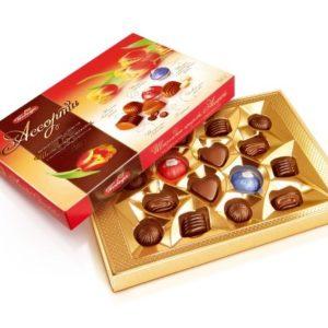 Конфеты Шоколадные Ассорти 200гр