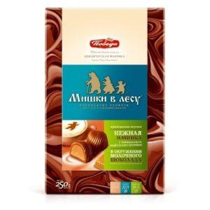 Конфеты шоколадные «Мишки в лесу» 250гр