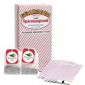 """Чай Краснодарский черный классический """"Отборный"""", 25пак"""