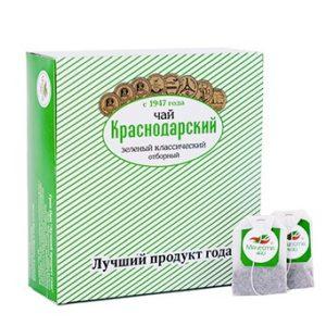 """Чай зеленый классический """"Отборный"""", 100пак"""