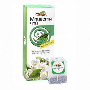 Чай зелёный байховый с ароматом жасмина, 25пак