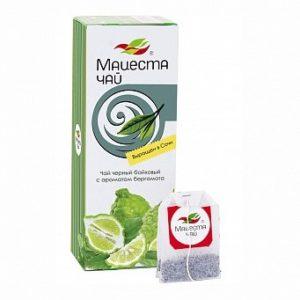 Чай черный байховый с ароматом бергамота, 25пак