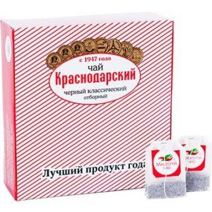 """Чай черный классический """"Отборный"""", 100пак"""