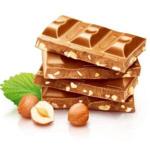 Шоколад молочный с орехом 90гр