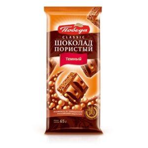 Шоколад пористый Темный  Classic 65гр