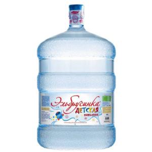 """Вода """"Эльбрусинка Детская"""", 19 литров"""