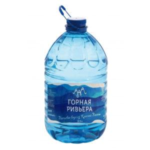 Вода «Горная Ривьера», 5л. Цена за 1уп(2шт×70руб)