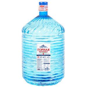 """Вода """"Горная Вершина"""", 19 литров в ПЭТ"""