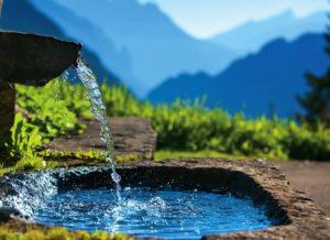 Родниковая вода: Польза и ее состав