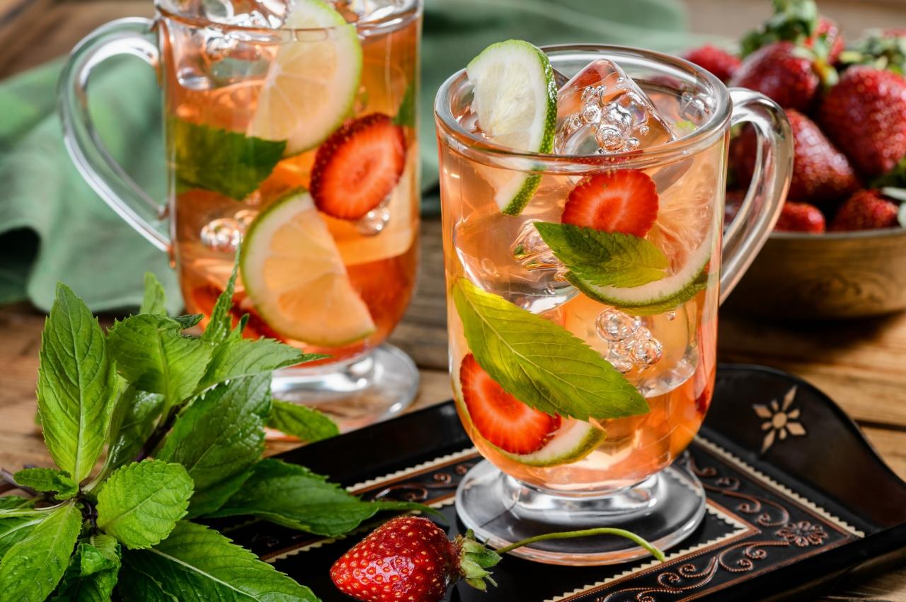 Холодный чай – идеальный напиток в жаркую погоду
