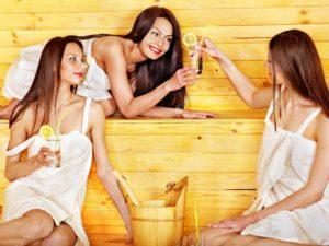 Минеральная вода и баня очистят от шлаков