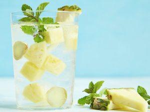 Какая польза воды с ананасом?