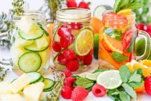 7 рецептов фруктовой воды