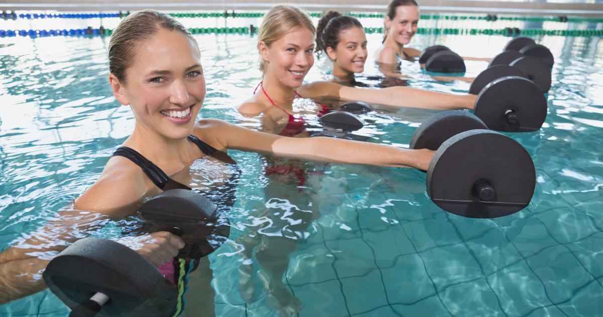 Аквагимнастика или как польза воды  может укрепить иммунитет