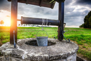 Вода из колодца или водопровода?
