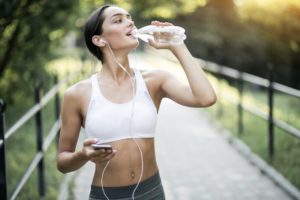 Возможность похудеть благодаря воде